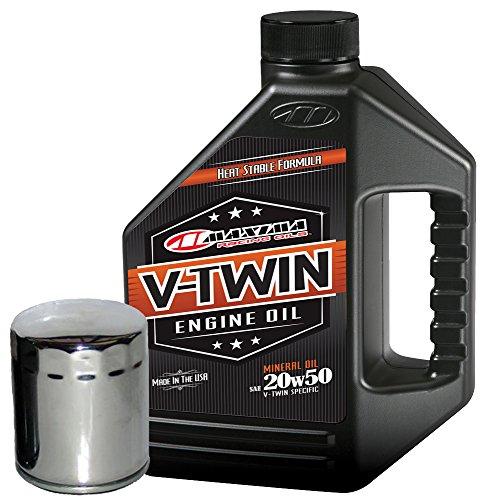 MaximaHiflofiltro VTEOCK2 Engine Oil Change Kit for Harley Davidson Sportster V-Twin