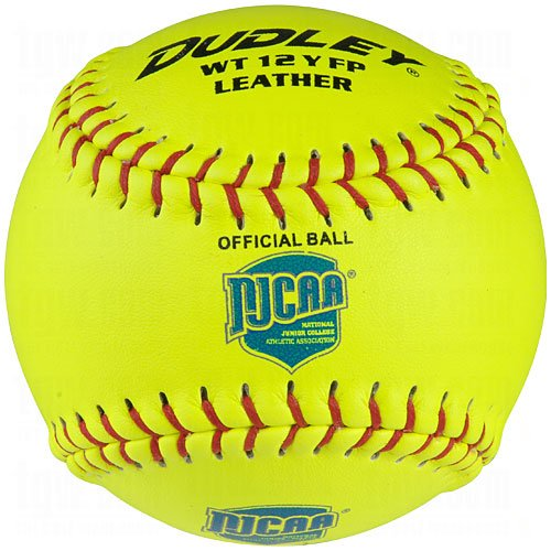 Dudley NJCAA Thunder Heat Fast Pitch Softball - 12 pack by Dudley