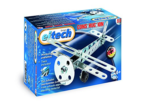building toys for girls Eitech Aircraft Construction Set