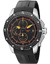 Tissot Men's T0624271705701 T-Navigator Swiss Automatic Chronograph Watch