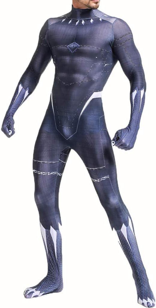 AEMUT Disfraz Impreso Negro Pantera Body héroe de la Maravilla de ...