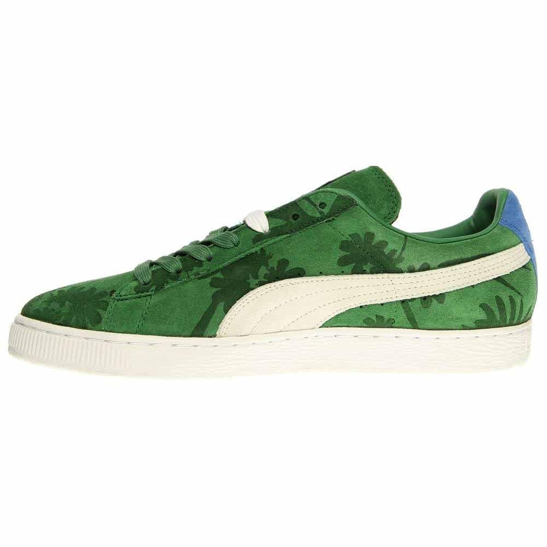 PUMA Men's Suede Classic Tropicali Medium Green/White 356151 07 (8) ekCYCa