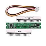 Nobsound Mini Dual 12 LED Level Indicator VU Meter Music Spectrum Sound Audio Display Analyzer DIY (DIY Kit)