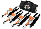 PowerTye Fat Strap Ratchet Tie-Down Kit TRAILERKIT-89
