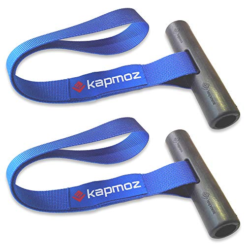 LE KAPMOZ Quick Hood Loops Trunk Anchor Kayak Tie Downs Straps Bow Stern Caneo Transport Secure Lashing Point