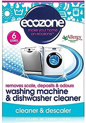 Ecozona Lavadora y lavavajillas descalcificador Tablets 6 por ...