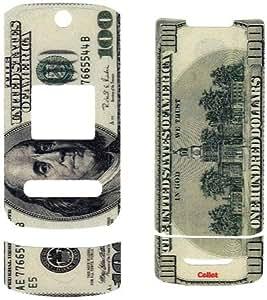 NEW CELLET $100 MONEY DECAL SKIN TATTOO SCREEN PROTECTOR FOR MOTOROLA KRZR K1M