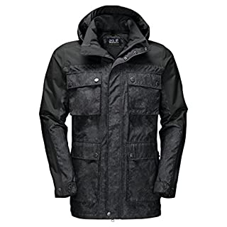 Jack Wolfskin Men's Cavendish Jackets, Phantom, Medium