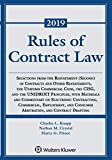img - for Rules of Contract Law (Supplements) book / textbook / text book