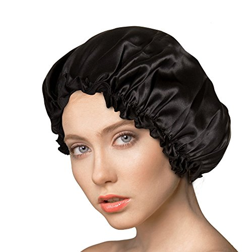 Silk Bonnet - Silk Night Cap by One Planet - Head Cover Bonnet for Beautiful Hair - Wake Up Perfect Daily!