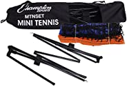 Champion Sports MTNSET Mini Tennis Set
