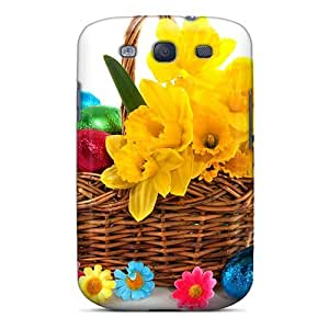 Durable A Little Basket Of Spring Back Case/cover For Galaxy S3