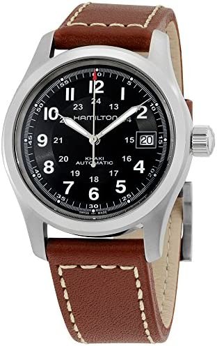 Hamilton Khaki Automatic Movement Black Dial Men s Watch H70455533