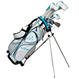 Tour Edge LUSRGL07.BT Women's 2014 Lady Edge Golf Starter Set, Flex, Right Hand, Graphite, Teal