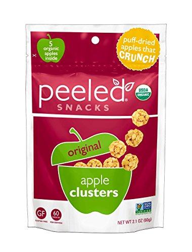 Peeled Snacks Organic Original Apple Clusters Snack 2.1 Ounce