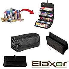 Elaxor Multi Functional Waterproof Travel Bag Organizer Are you worried about the various cosmetics or other small things when you are traveling? Are you tired of digging around in deep toiletries bags for that pair of tweezers or spare safety pin yo...