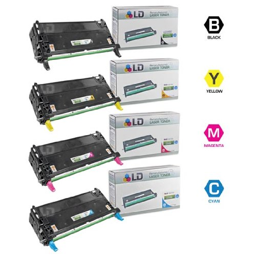 LD © 4 Dell HY Remanufactured 3130cn toners 1(Bk,C,M,Y), Office Central