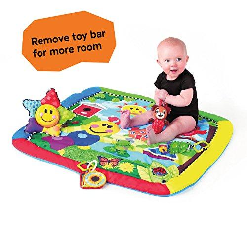 510PoYVFCYL - Baby Einstein Caterpillar & Friends Play Gym with Lights and Melodies, Ages Newborn +
