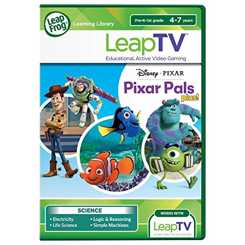 LeapFrog LeapTV Disney Pixar Pals Plus Educational, Active Video Game ()