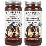 Sanders Hot Fudge (Dark Chocolate Hot Fudge Topping, 20 oz) - 2 Pack