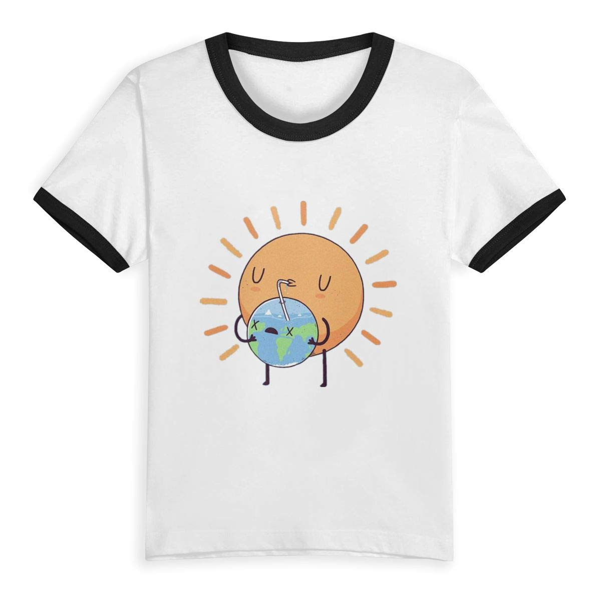 Sun Drink Water Children Kids Boys Girls Short Sleeve T-Shirt Tee 2T-6T