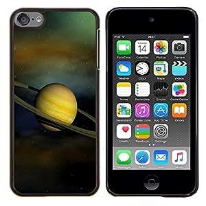 """Be-Star Único Patrón Plástico Duro Fundas Cover Cubre Hard Case Cover Para iPod Touch 6 ( Anillos de Saturno Sistema Solar Planet Cosmos"""" )"""