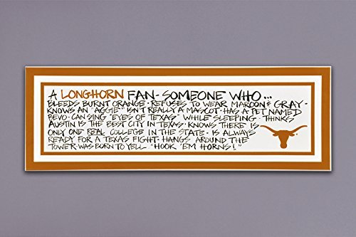 University of Texas Wall Art - 23 Inches X 8 Inches ()