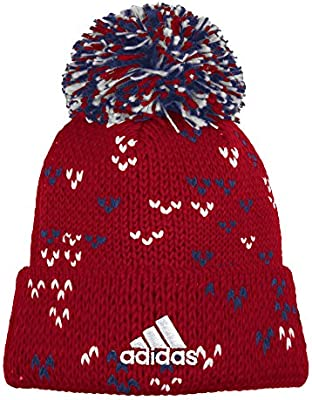 76c154c13ba Amazon.com   adidas MLS Real Salt Lake Women s Fan Wear Cuffed Pom ...
