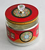 """Tibet Tech """"Two-In-One"""" Electric Table-top Prayer Wheel - 8-DVDs with 84,348,750,000 prayers and 1-DVD with 16,003,200,000 Medicine Buddha prayers"""