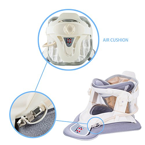 Patented FDA Guaranteed New Medical Neck Cervical Traction Device Portable Home Use, Therapy Unit Provide Relief for Neck and Upper Back Pain, Dizziness and Limb Numbness. by ALPHAY (Image #6)