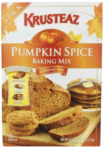 Krusteaz Pumpkin Spice Baking 3ways product image