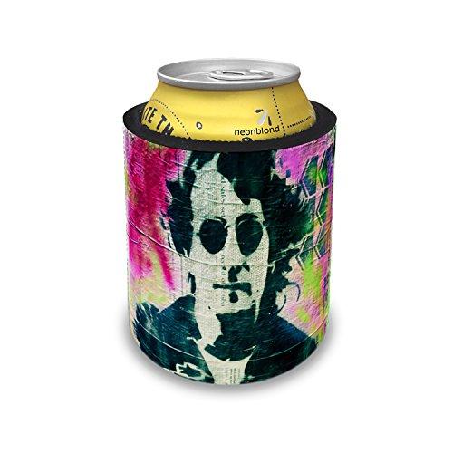 Slap Can Coolers John Lennon, street art Insulator Sleeve Covers Neonblond (John Lennon Jewelry)