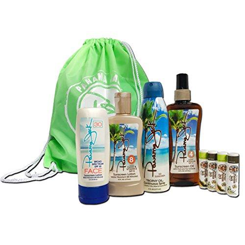 (Panama Jack Sunscreen and Suntan Gift Sets (Summer Glow Essentials Gift)