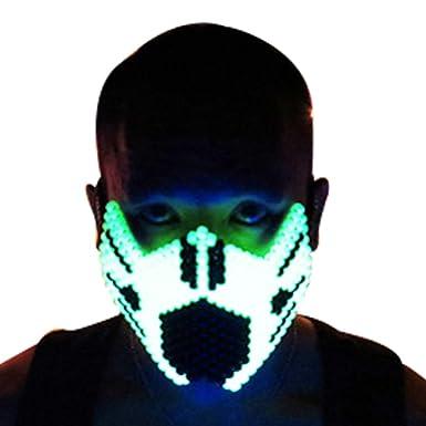 Kandi Gear Mascara Kandi Completa de Ninja Amarilla que ...