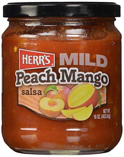 (Herr's Peach Mango Salsa, 16 Ounce)