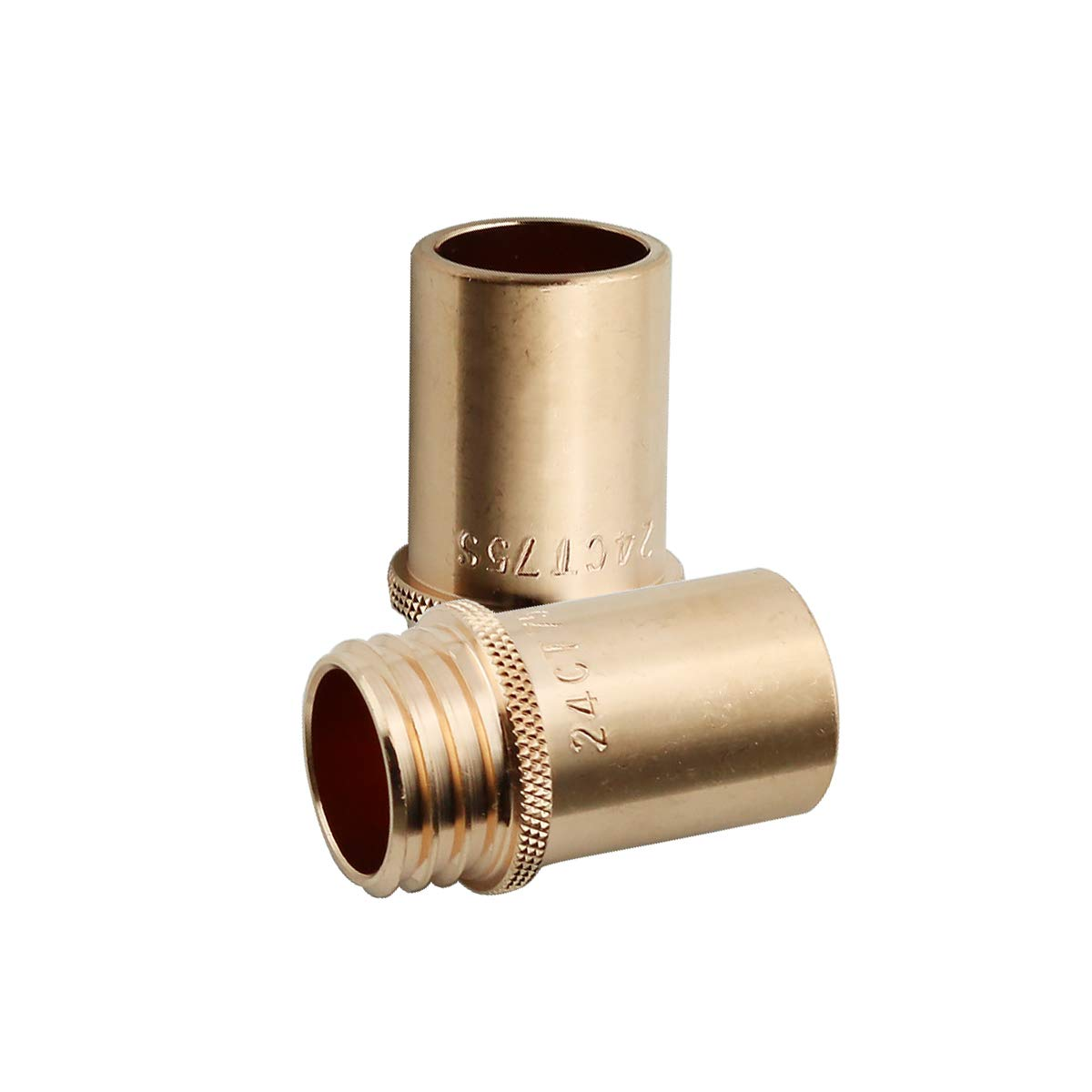 WeldingCity 2 Gas Nozzles 24A-75-SS 24A-75SS 3//4 for Lincoln Magnum and Tweco MIG Welding Guns