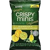 Quaker Crispy Minis Veggie Italian Herb & Olive Oil Multigrain Chips, 90 Grams