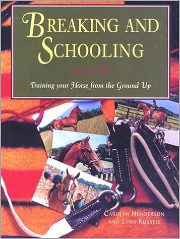Book Breaking and Schooling by Carolyn Henderson (1995-08-01)