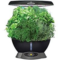 AeroGarden Classic 6 with 6-Pod Gourmet Herbs Seed Kit and Seed Starting System