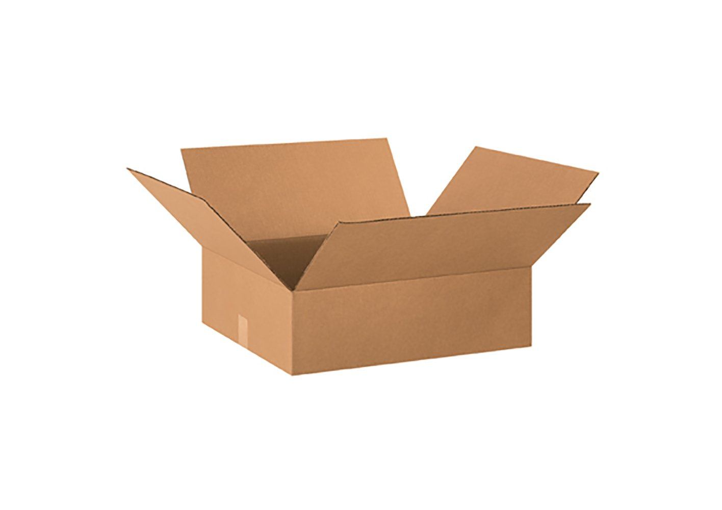 RetailSource B201804CB250 Corrugated Box, 4'' Height, 18'' Width, 20'' Length, Brown (Pack of 250)