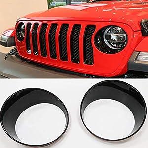 Free TTCR-II for Jeep Wrangle JL Headlight Cover