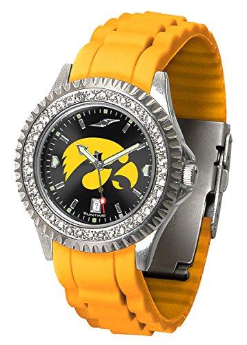 New Linkswalker Ladies Iowa Hawkeyes Sparkle Watch