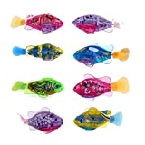 robots fish - Eshion Flashy Electronic Pets Toy Robot Fish Swimming Diving Electric Turbot Clownfish(1 Piece)