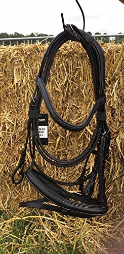 Full Equipride Super Soft English Calf Leather Bridle with Reins BROWN (Full)