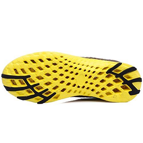 Peak Idea Frames Herren Leichte Slip On Schnell Trocknende Mesh Wasser Schuhe Braun