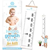 Height Growth Chart for Kids – Portable Foldable Writable Hanging Wall Height Chart for Kids, Toddlers, and Babies