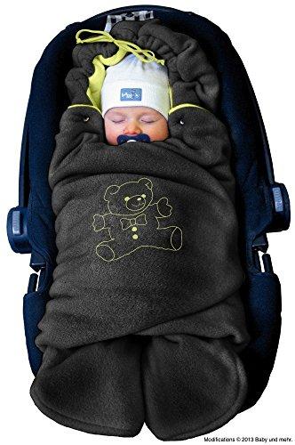 Green Baby Pram Blanket - 6