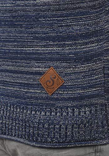 En Melker Capuche 100 Homme Maille over 1991 Coton Pour À Insignia Pull Pull Blue Tricot solid dIwqTBI