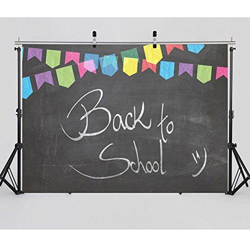 Damier 7ft(W) x 5ft(H) Back to School Blackboard