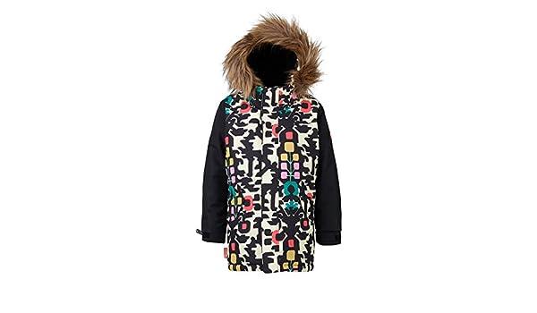 Amazon.com: Burton Girls Ms Aubrey Jk Yngflk Trublk-White-4T (97-104 cm): Clothing